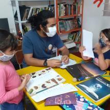 Lezione al centro di Medellin